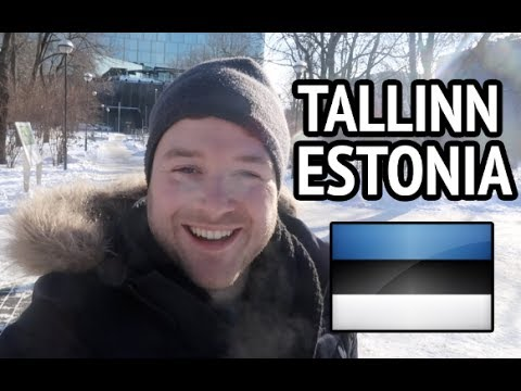 TALLINN ESTONIA 🇪🇪 - English tourist guide