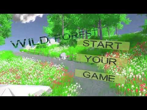 Unity 3D menu | Wild Forest