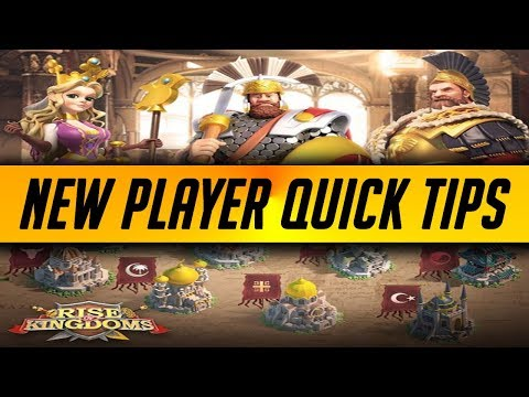 56 Quick Tips for New Players | Rise of Kingdoms