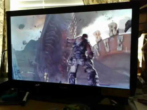 Gears of wars 3 Dom's death reaction