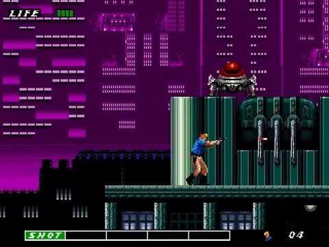 Jouez à ESWAT sur Sega Megadrive / Genesis grâce à nos bartops et consoles retrogaming