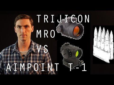 Trijicon MRO vs Aimpoint T1 Micro