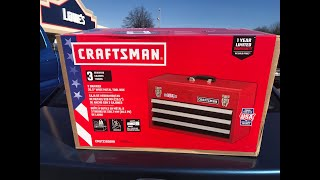 Comparing A New Lowe's Craftsman Tool Box To A 20 Year Old Sears