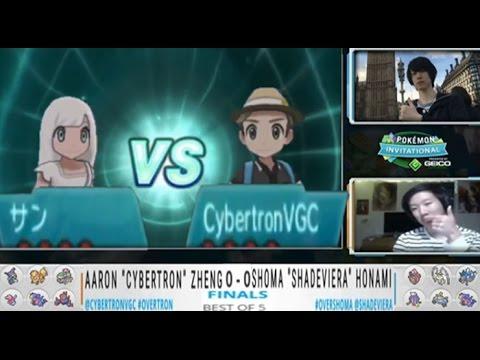 "ONOG Pokémon Invitational Final´s Aaron ""Cybertron"" Zheng VS Shoma Honami"