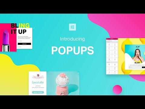 Introducing Popup Builder by Elementor