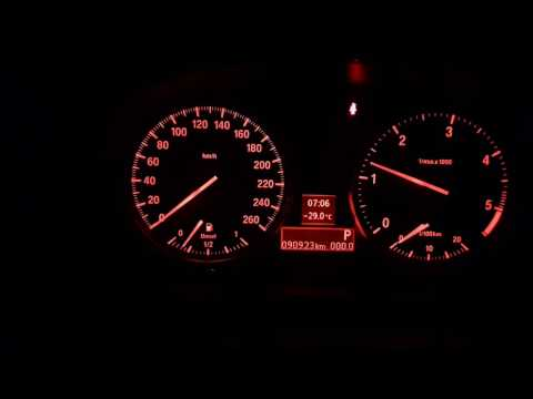 Запуск в мороз 29 BMW X1 дизель.