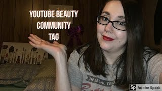 YOUTUBE BEAUTY COMMUNITY TAG