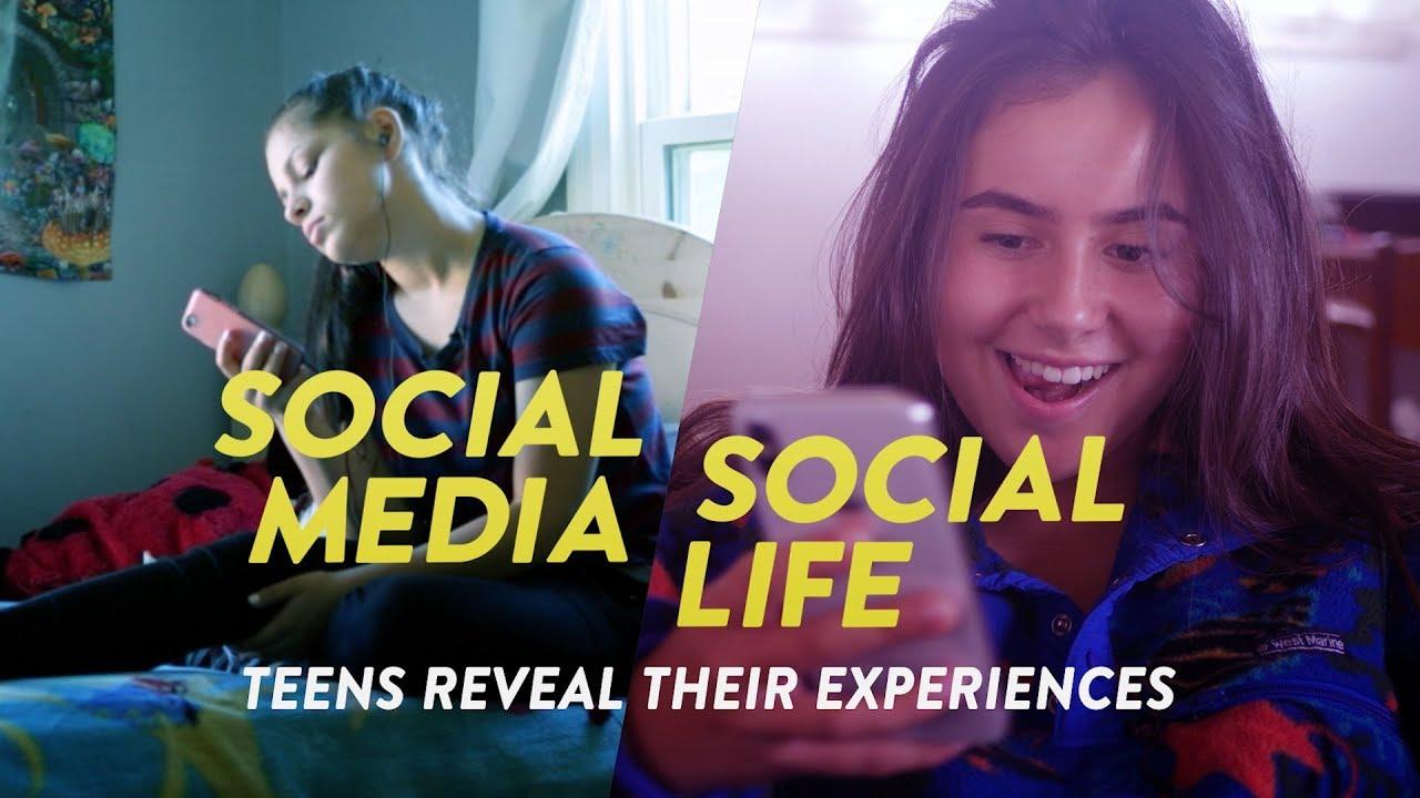 Social Media Social Life Teens Reveal Their Experiences