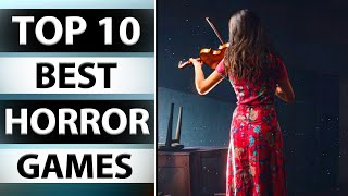 TOP 10 BEST HOŔROR GAMES FOR PC 2020 HIGH GRAPHICS