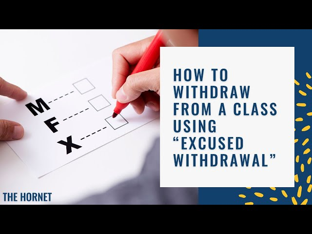 "How to withdraw from a class using ""Excused Withdrawal"" - Fullerton College"