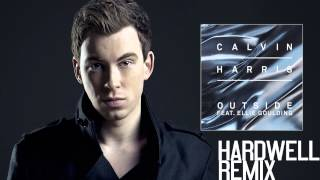 Calvin Harris feat. Ellie Goulding - Outside (Hardwell Remix) [BEST QUALITY]