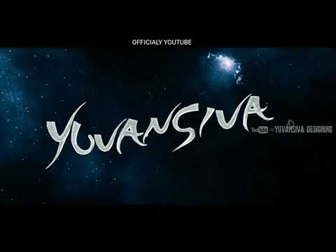 Lingaa title card by Yuvansiva
