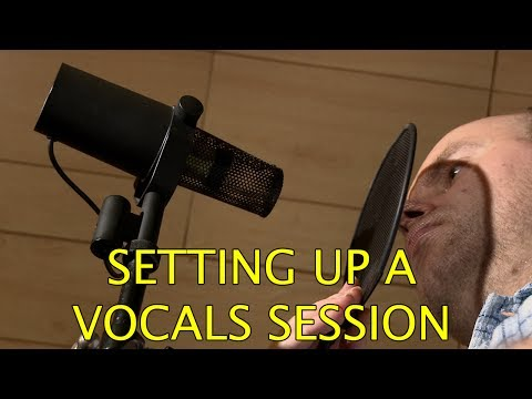 Lots of Vocals Recording Tips Pro Quality 1 of 3
