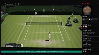 A.O. Tennis Wimbledon 2019 simple messieurs la finale