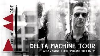Depeche Mode - Delta Machine Tour - FULL SHOW (2014, Lodz, Poland)(2014-02-24)