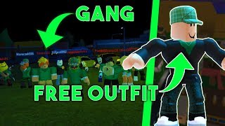 A NEW GANG! HOW to JOIN for FREE-Free Outfit l ROBLOX