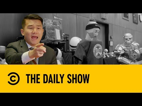 Racist Robots Are Replacing Lawyers | The Daily Show With Trevor Noah
