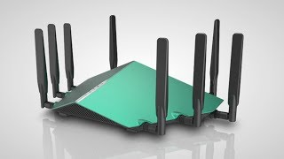 802.11ax Wi-Fi Kicks Off With D-Link Routers (CES 2018)