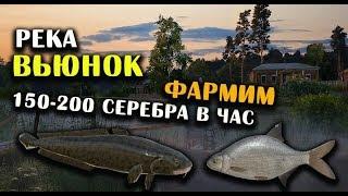 ТОП ФАРМ В РУССКОЙ РЫБАЛКЕ 4 (РР4). 80+ СЕРЕБРА В СУТКИ.