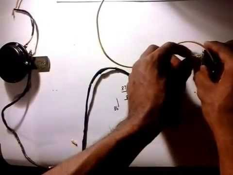 how to wire a car horn youtube Motorcycle Horn Wiring Diagram how to wire a car horn