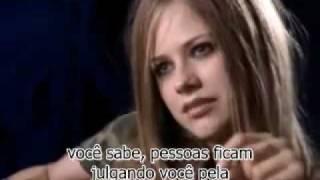Avril Lavigne Entrevista Sobre Sk8erBoi Legendado