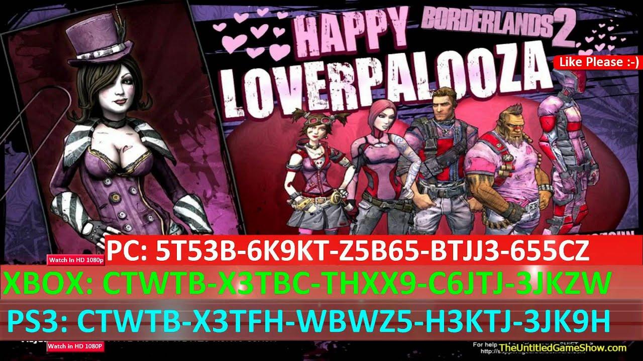 Loverpalooza Borderlands 2 Valentine S Day Skins Guns Youtube