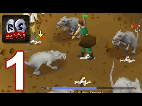 Old School RuneScape – Gameplay Walkthrough Part 1 – Tutorial Island (iOS, Android)