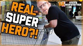 American Comedian Learns About Trolley Man - Steve Hofstetter