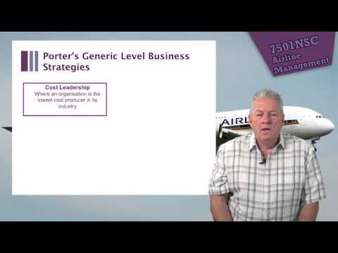 7501NSC Lecture 10: Managing the Airline Business