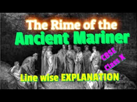 The Rime of the Ancient Mariner- Part 1- Samuel Taylor Coleridge CBSE class X