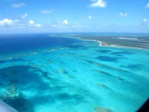 Landing at Turks & Caicos