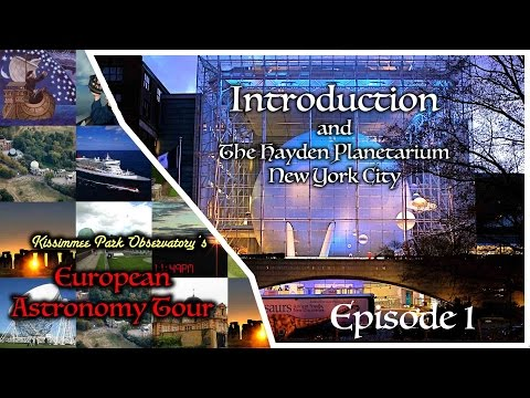 EAT #01 - Introduction and the Hayden Planetarium