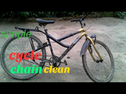Simple cycle chain clean malayalam