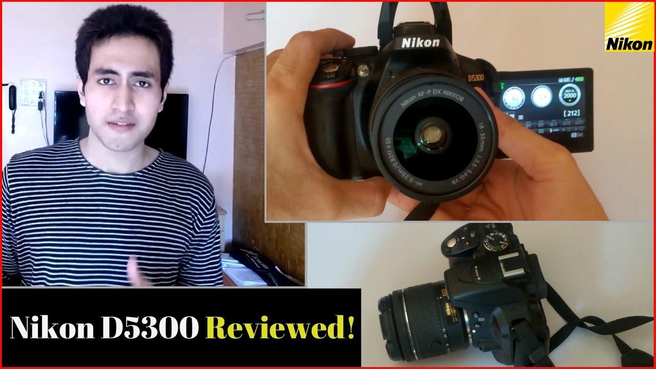 nikon d5300 as webcam