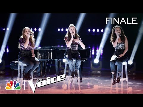 """Abby Cates, Reagan Strange And Sarah Grace Perform """"Million Reasons"""" - The Voice 2018 Live Finale"""