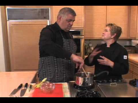 George Geary sauces up the kitchen