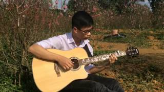 Happy new year - Sungha jung guitar (cover  by Tung Pham)