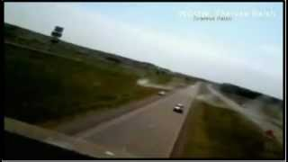 Official Car Catapult. HEAT Buckles Road jumps SUV AIRBORNE 75MPH makes suv Car jump