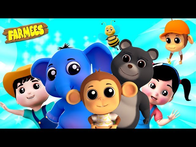 We're Going To The Zoo Song | Nursery Rhymes For Children | Kindergarten Cartoons by Farmees