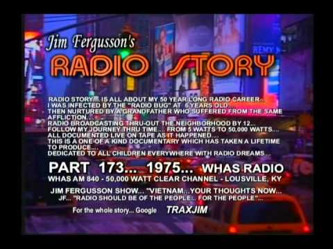 """""""VIETNAM-YOUR THOUGHTS NOW"""" - 1975 - WHAS - JIM FE..."""