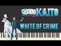 Magic Kaito 1412 Soundtrack - White of Crime | Anime (Piano Tutorial Synthesia)