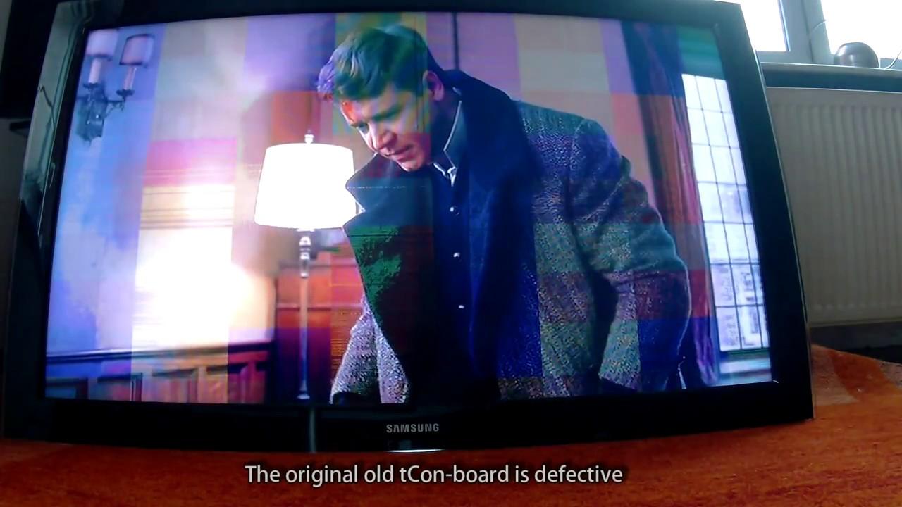 Samsung TV tCon Board defect