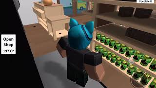 Spelar Hide and sik med Nelly i roblox