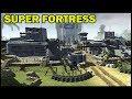 Brutal Battle Droid SUPER FORTRESS Defense -  Men of War: Star Wars Mod Battle Simulator