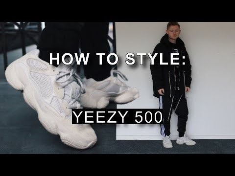 How To Style Yeezy 500 Blush