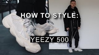 How To Style Yeezy 500 Blush | 4 Outfit Ideas