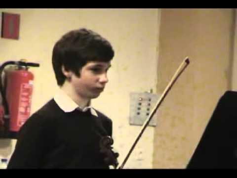 Haydn violin concerto in G by Victor Pevernagie