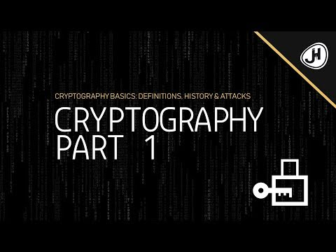 Cryptography Basics: Definitions, History & Attacks (Cryptography Crashcourse Part 1)