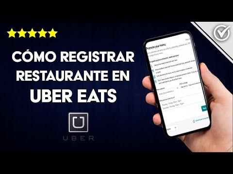 Cómo Dar de Alta o Registrar un Restaurante en Uber Eats Fácilmente
