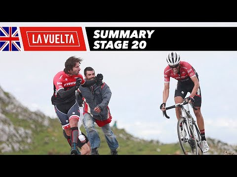 Summary - Stage 20 - La Vuelta 2017